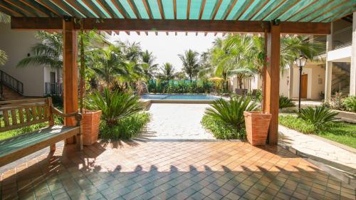 A piscina localizada em Pousada Vitalis ou nos arredores