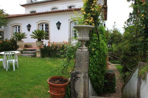 A garden outside Quinta de Sao Lourenco