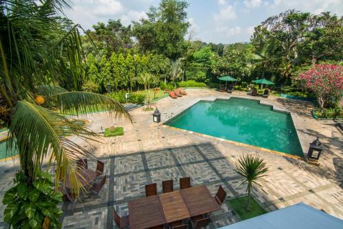 A view of the pool at Grand Candi Hotel or nearby