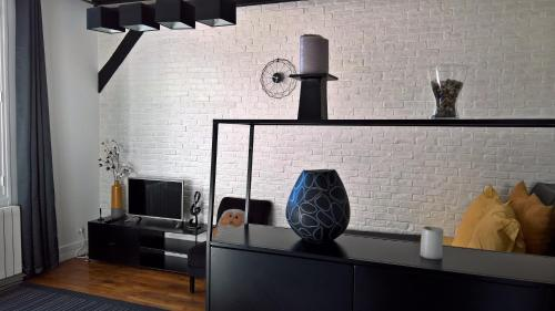 A television and/or entertainment center at We Loft