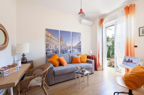 Area soggiorno di Il Segno in Rome