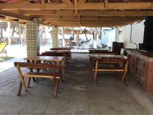 A restaurant or other place to eat at Coco Blue Resort