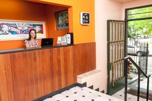 O saguão ou recepção de Jucati Season Apartments
