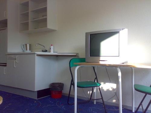 TV/Unterhaltungsangebot in der Unterkunft Hotel Gedser Apartments