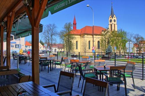 Restaurace v ubytování Penzion U Broucka