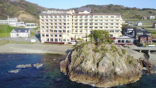 旅館が所在する建物