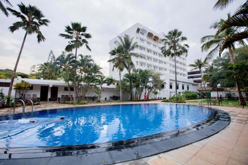 The swimming pool at or near Southern Star,Mysore