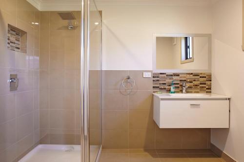 A bathroom at La Casa