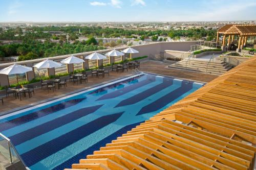The swimming pool at or near Ayla Grand Hotel