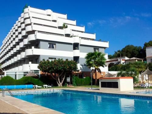 Het zwembad bij of vlak bij Hotel AR Galetamar