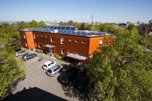 Blick auf Greencity Boardinghouse aus der Vogelperspektive