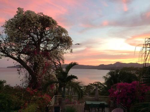 Lever ou coucher de soleil vu de le B&B/chambre d'hôtes ou à proximité