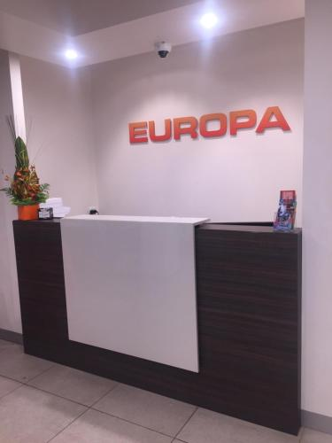 The lobby or reception area at Europa Melbourne