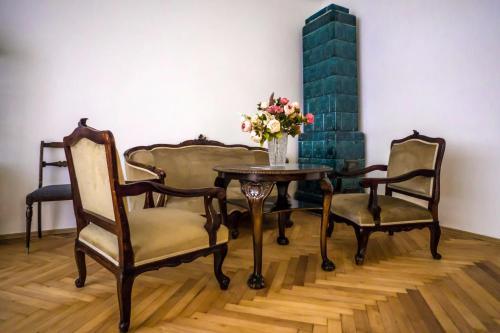 Area soggiorno di Origin 1920 Prague apartment