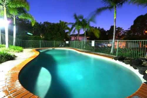 The swimming pool at or near Theme Park HolidayTownhouse