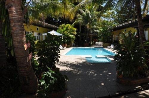 A piscina localizada em Hotel Master ou nos arredores