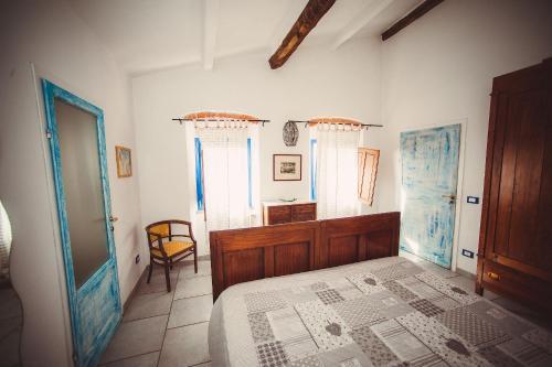 Letto o letti in una camera di Casa Vacanze Al Settimo Cielo