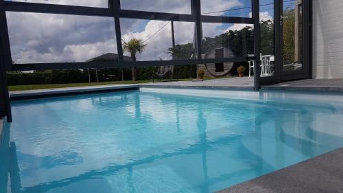 The swimming pool at or near Villa Balnea