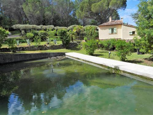 The swimming pool at or near Le Mas des Oliviers