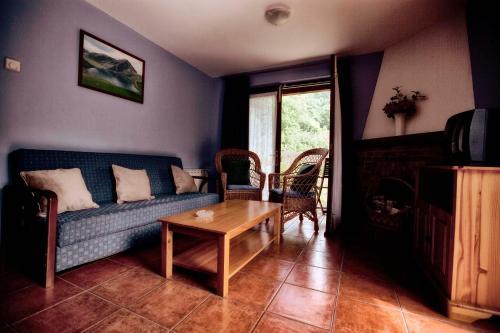Zona de estar de Apartamentos Rio Tabardin