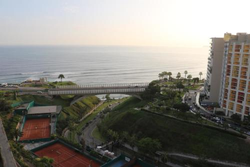 A bird's-eye view of Terrazas Apartments Miraflores