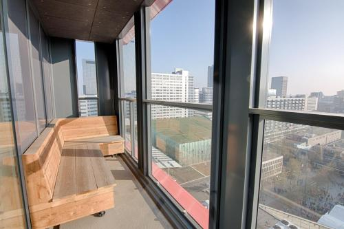 A balcony or terrace at NTH Apartments