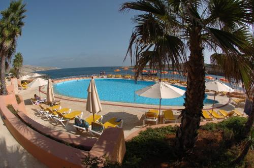 A view of the pool at Comino Hotel or nearby