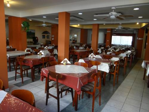 A restaurant or other place to eat at Ekali Hotel