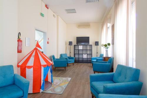 Гостиная зона в Hotel Sirena