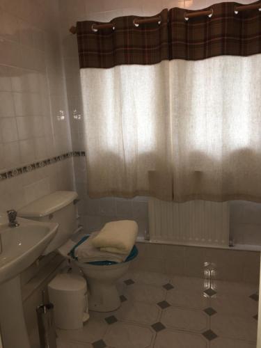 A bathroom at The Nest