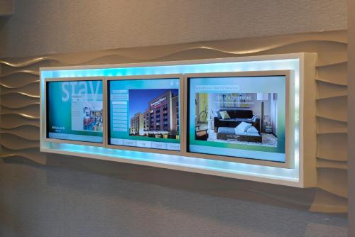 A television and/or entertainment center at SpringHill Suites St. Louis Brentwood