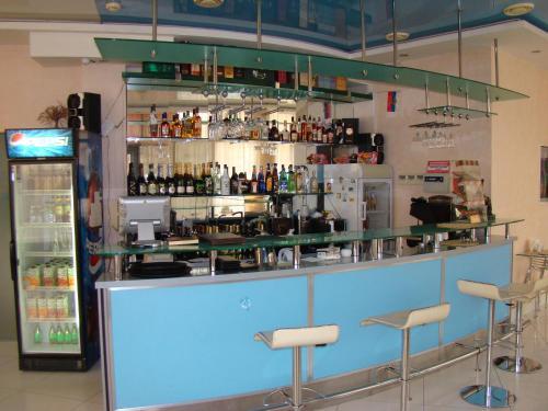 Лаундж или бар в Синее море, ресторанно-гостиничный комплекc
