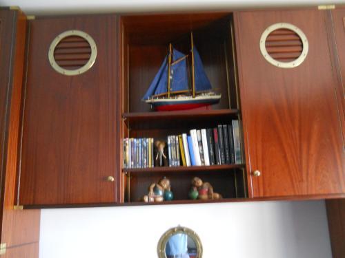 Biblioteca nell'appartamento