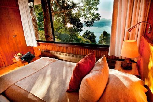 Hotel Antumalalにあるベッド
