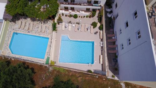 A view of the pool at Melpo Hotel or nearby
