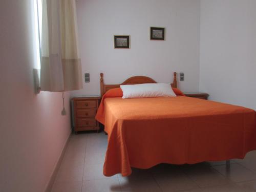 Cama o camas de una habitación en Apartamentos Forner