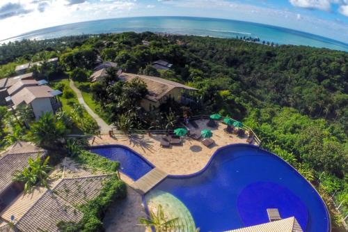 A bird's-eye view of Villas Supreme Hotel