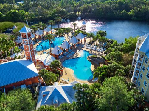 A bird's-eye view of Hilton Grand Vacations at SeaWorld