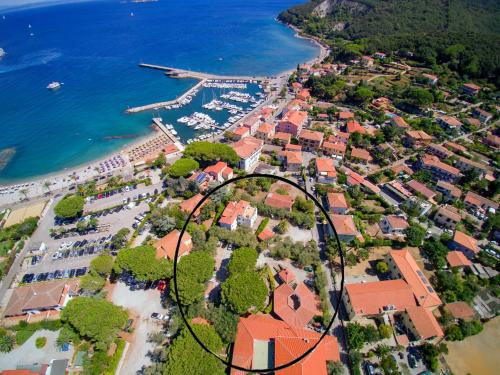 A bird's-eye view of Hotel Marelba