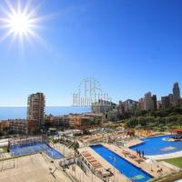Brand new luxury apartment in second line of beach with sea views in Benidorm - (Ref: 1121-V)