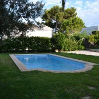 Casa Ponent, con jardín, barbacoa y piscina en l'Ampolla