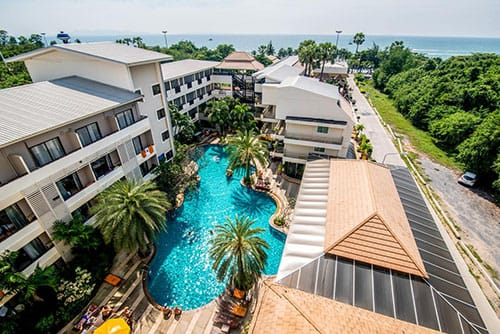 Sea Breeze Jomtien Resort Image