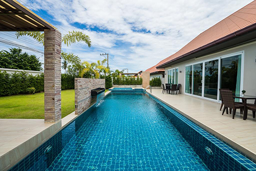 The Ville Jomtien Pool Villa Image