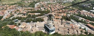 Hotels in Serravalle