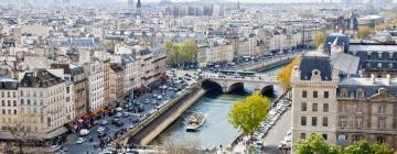 Hotely v Paríži
