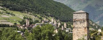 Отели в городе Местиа