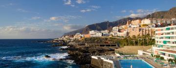 Hoteles en Puerto de Santiago