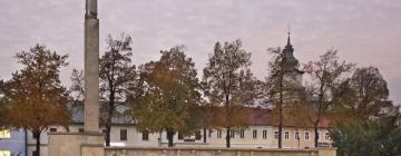 Hotely v Prievidzi
