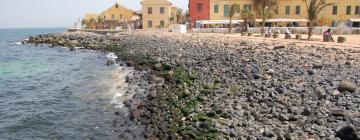 Hôtels à Gorée
