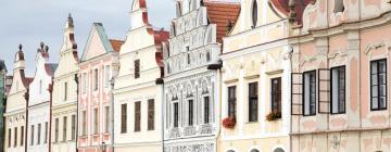Отели в городе Тельч